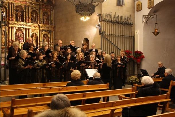 Andorra, Ordino, coral Casamanya, Orfeó Andorrà, concert, Nadal