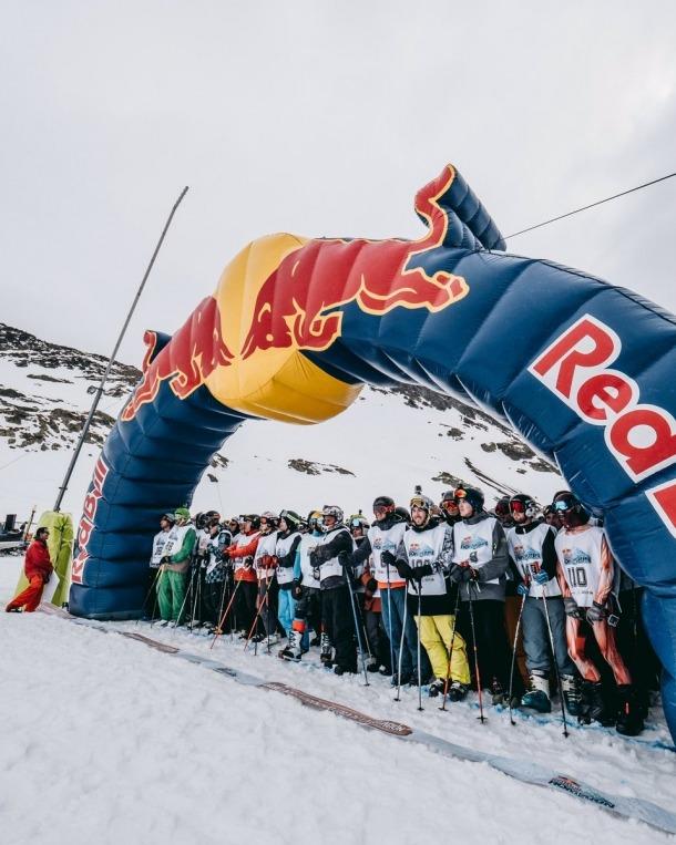 'Cande', 1a a la Red Bull
