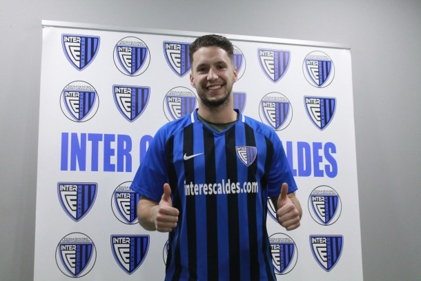 Lucas Maciel, a l'Inter Escaldes