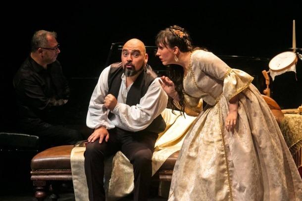 Jonaina Salvador, que es desdobla com a cantant i com a directora de la Temporada, va ser la Rosina d''Il barbiere di Siviglia'.