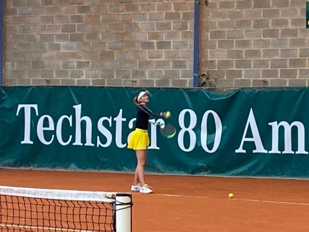 Vicky Jiménez va debutar ahir a nivell individual com a professional a Amiens.
