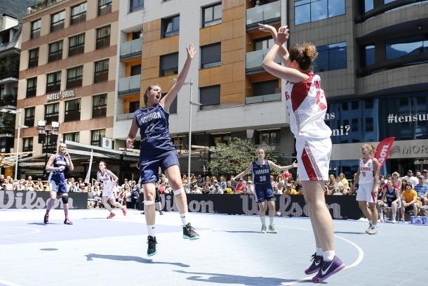 La jugadora de la selecció de bàsquet 3x3 Alba Pla.