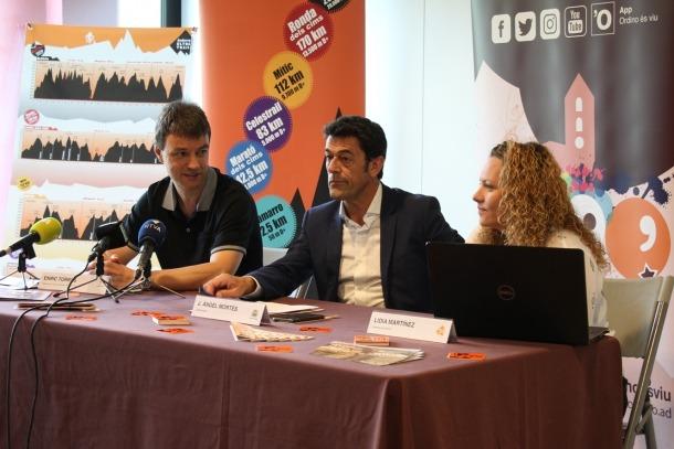 Un moment de la presentació ahir de la nova edició de l'AUTV.