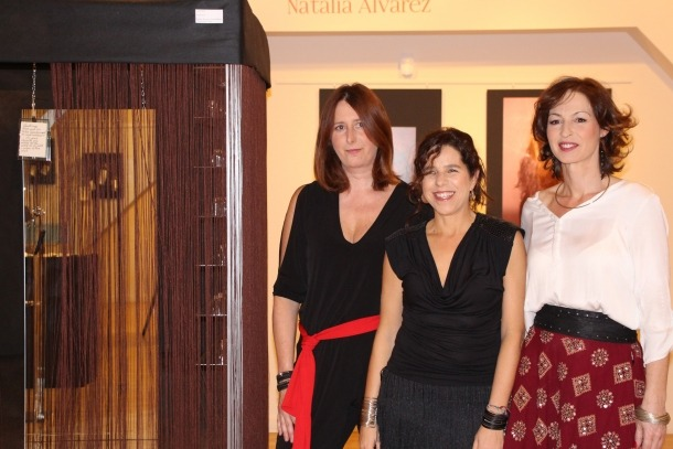 Rosa Mujal, Girasol Blanco i Natàlia Álvarez, al CAEE escaldenc.