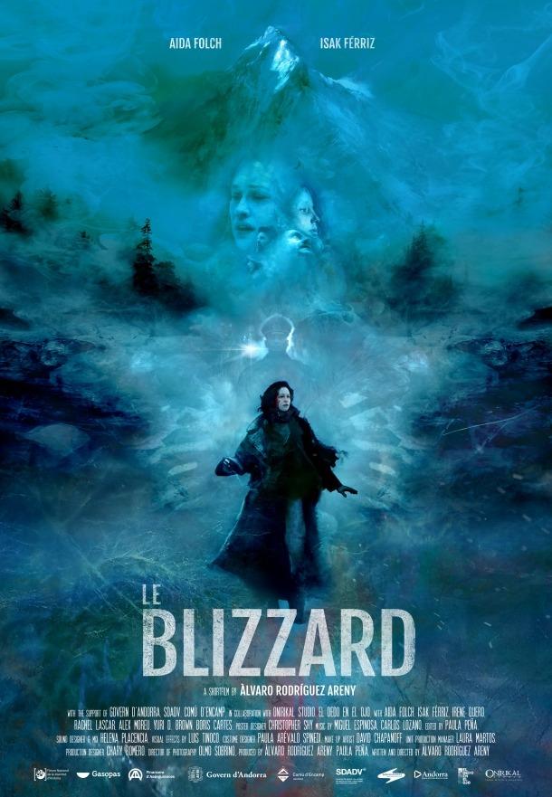 El cartell de 'Le Blizzard', obra de l'il·lustrador nord-americà Christopher Shy..