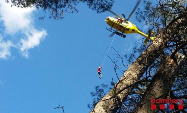 Els bombers han fet 781 rescats de muntanya durant aquest any