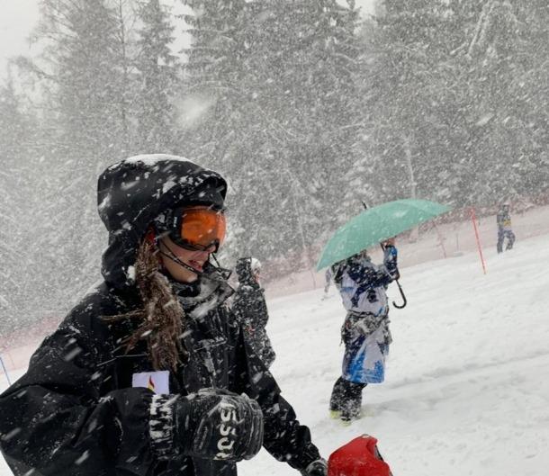 Carla Mijares millora punts en gegant a Cerro Castor