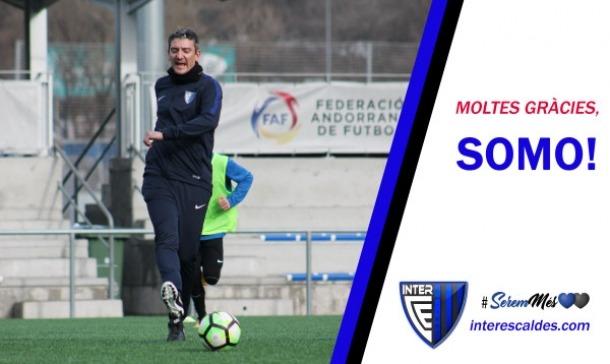 L'Inter Escaldes fa oficial la marxa del tècnic Àlex Somoza