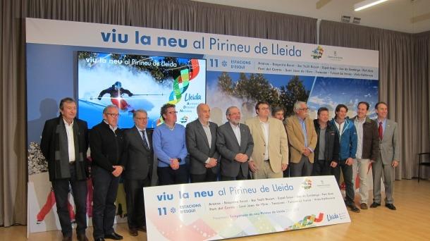 Les estacions d'esquí de Lleida volen augmentar un 4% els forfets venuts