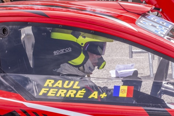 Raul Ferré a Font Romeu.