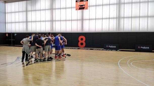 L'equip dirigit per Ibon Navarro es va entrenar ahir a L'Alquería per preparar el partit d'avui contra el Casademont Saragossa.