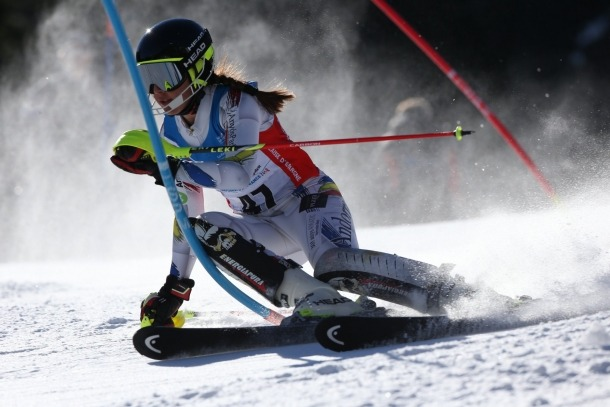 Sissi Hinterreitner i Cande Moreno, 'out' a un gegant FIS