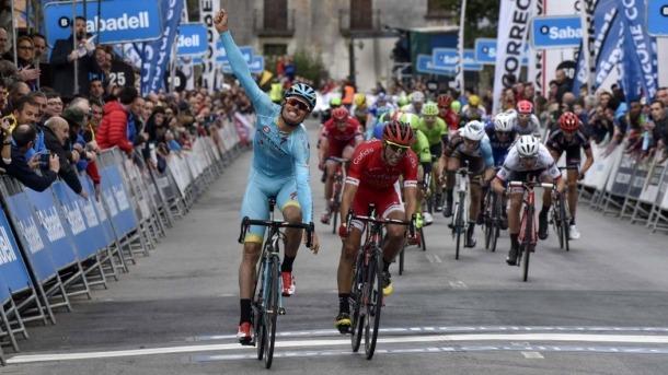 Luis León Sánchez, de l'Astana, un altre ciclista que tria el país