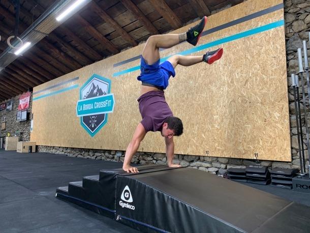Enric Closa, als CrossFit Games