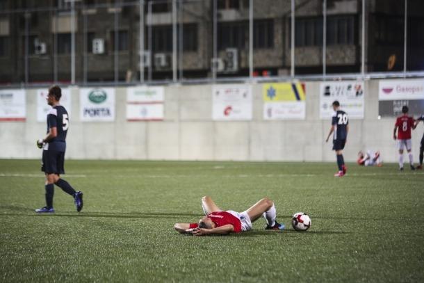 Els jugadors d'Adolfo Baines no van poder passar de l'empat davant el Vall Banc Santa Coloma i el títol haurà d'esperar.