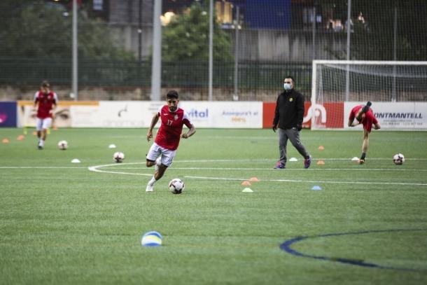 Alguns equips de la lliga ja es van entrenar ahir al Centre d'Entrenaments de la FAF.