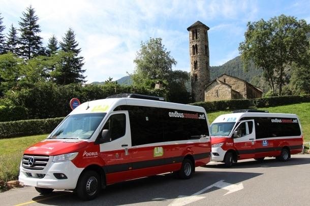 El nou servei de bus comunal es va posar en marxa l'1 de setembre passat.