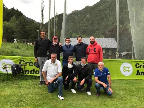 El Campionat d'Andorra de parelles de pitch-and-putt es va organitzar ahir.