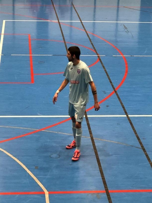Leo Santos, amb l'Atlètic Escaldes.