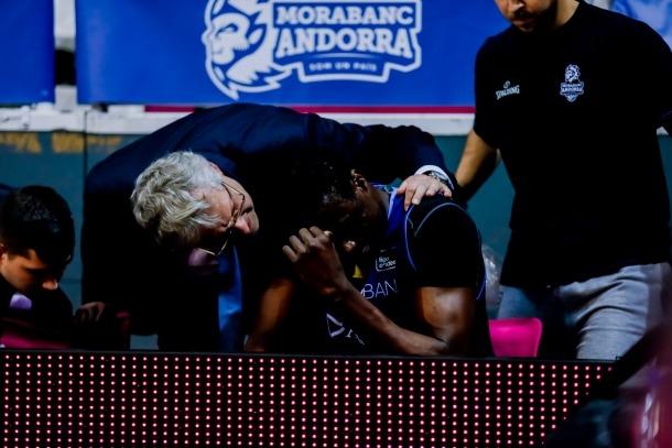 Moussa Diagne, a nivell de lesions, no ha pogut tenir la temporada desitjada.