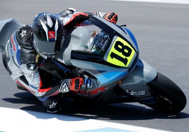 Xavi Cardelús, al circuit d'Estoril, va assolir la cinquena posició.