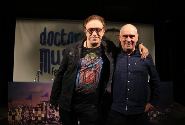 El director del festival, Neo Salas, i el seu coordinador d'operacions, Jordi Mora.