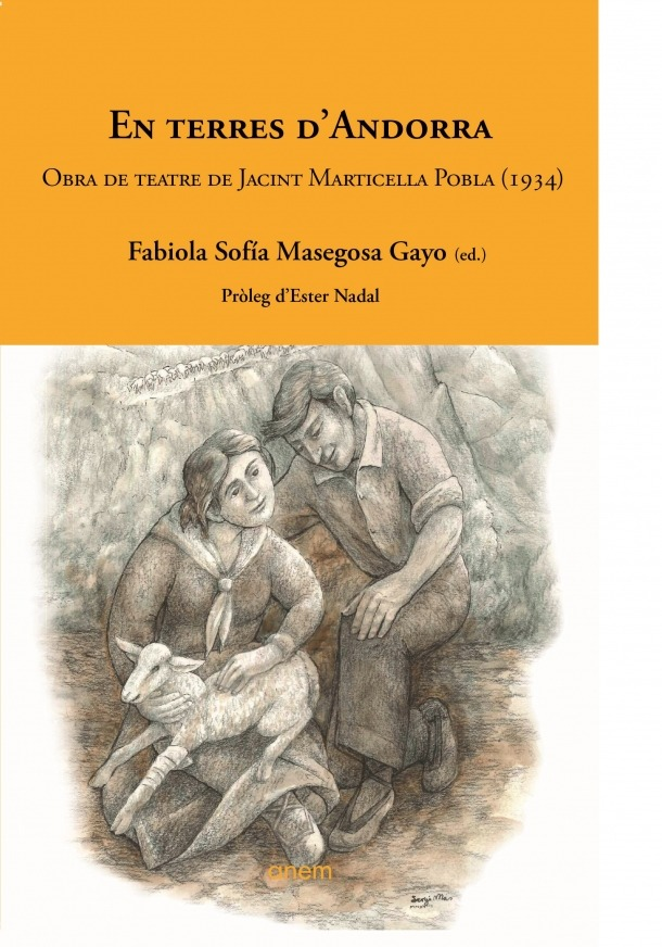 Portada del volum amb pròleg d'Ester Nadal i introducció de Fabiola Masegosa.