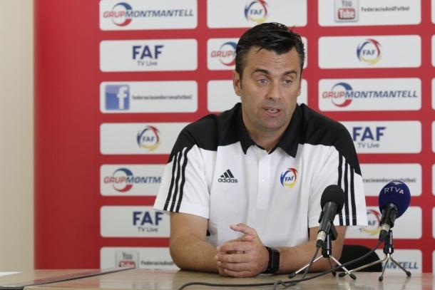 Koldo Álvarez renova i dirigirà la selecció en la fase per a l'Eurocopa