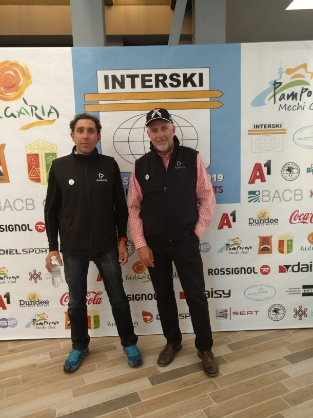 Valls i Arajol van prendre part en el congrés Interski.