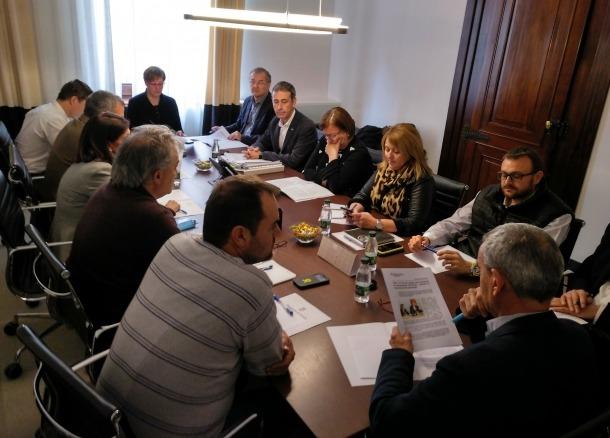La junta de portaveus de la Diputació de Lleida va estar dedicada a la possible marxa del Doctor Music Festival.