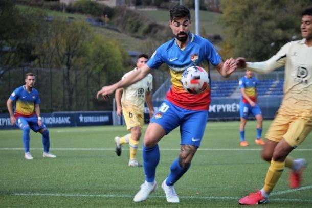 Carlos Martínez, de l'FC Andorra. Foto: FC Andorra