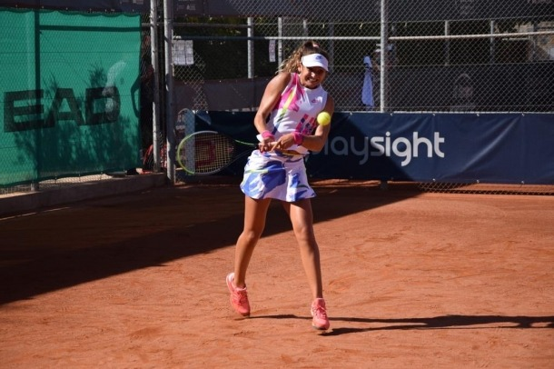 Vicky Jiménez disputarà els quarts de final individual al Trofeu Juan Carlos Ferrero. Foto: Foto cedida per Joan Jiménez