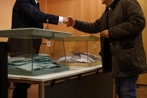 Una imatge de les passades eleccions generals, celebrades l'abril del 2019.
