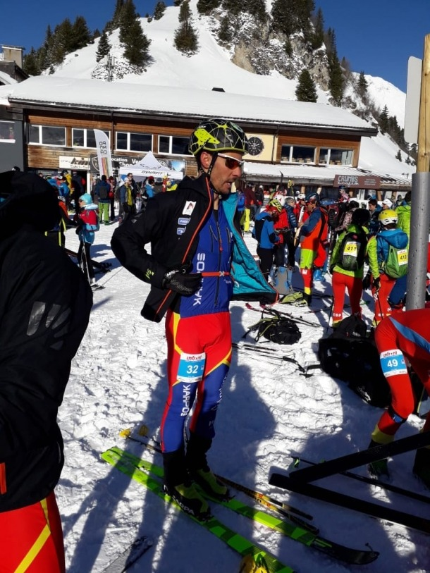 Xavi Areny, 27è a l'individual dels Mundials de Villars