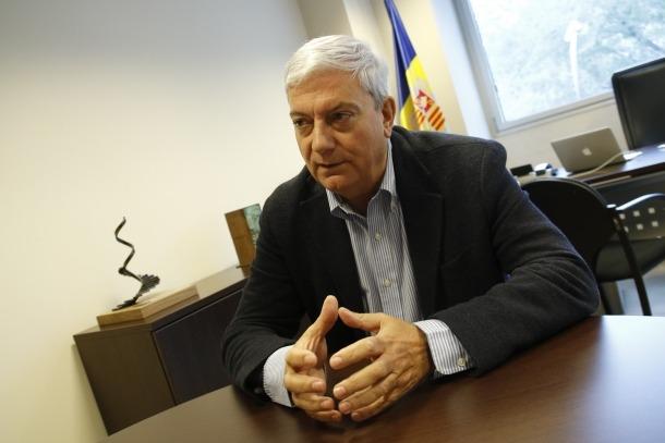 El president de la patronal, Gerard Cadena, augura que al juny començarà a reactivacio de l'economia.