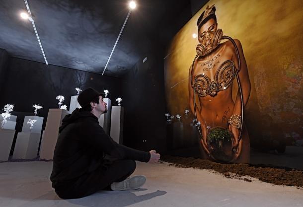 'Future is Now', la instal·lació amb què Shangti va representar Andorra a l'última Biennal.
