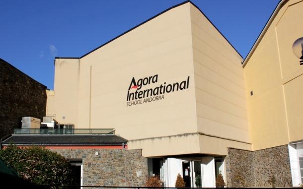 Vista de les instal·lacions de l'Agora International School, a l'Aldosa de la Massana.