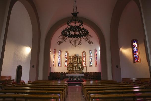 Ahir a la tarda no hi havia ni una ànima a l'arxiprestal de Sant Esteve.