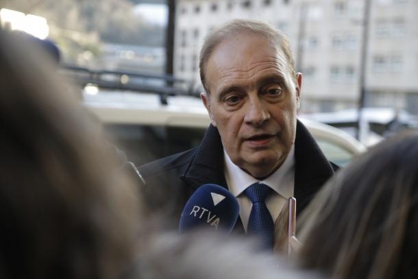 El president del grup parlamentari de Terceravia, Josep Pintat.