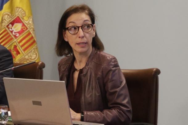 La directora d'Ocupació i Treball, Laura Vilella, va explicar el contingut del Reglament de l'ocupació.