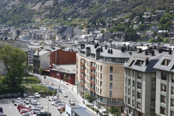 Blocs de pisos a Escaldes-Engordany.