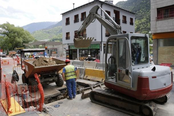 La separativa de Santa Coloma ha centrat tots els esforços a la capital, en ser vital per evitar les inundacions recurrents.