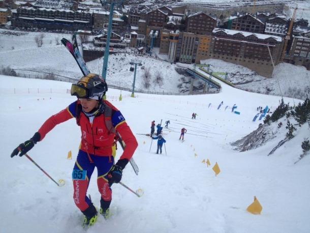 Marc Font guanya a la pista Avet de Soldeu