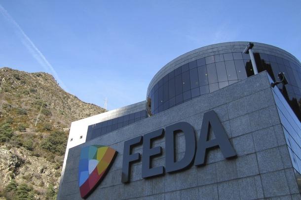 Vista de l'edifici central de FEDA.