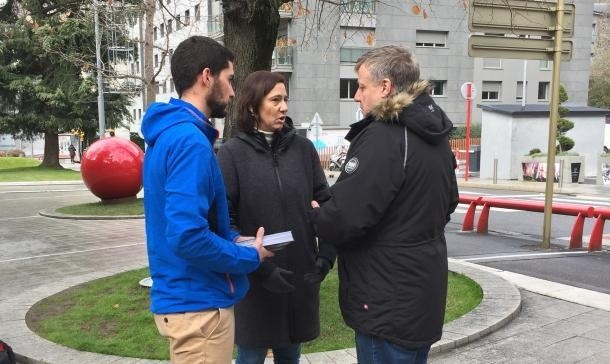 Membres de la candidatura de Terceravia + Independents.