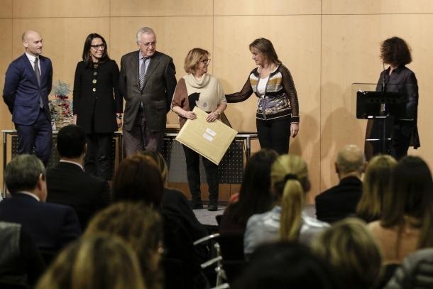El Centre de Congressos va acollir el lliurament de premis, ahir al vespre.