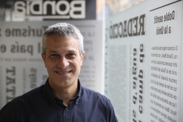 Jordi Fernández, director de Creu Roja Andorrana.