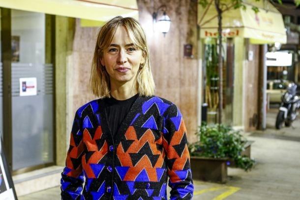 Teresa Colom, al novembre quan va presentar a la Puça la eva primera novel·la, 'Consciència'.