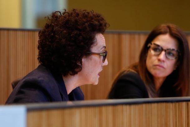 La ministra de Funció Pública i Simplificació de l'Administració, Judith Pallarés.