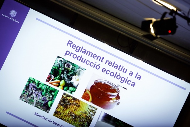 La regulació de la producció ecològica es va presentar ahir.